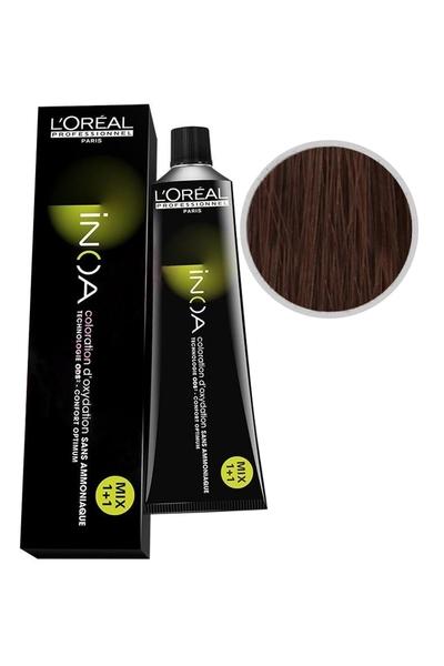 inoa - İnoa Saç Boyası 6.8 Orta Çikolata Kahve 60 ml