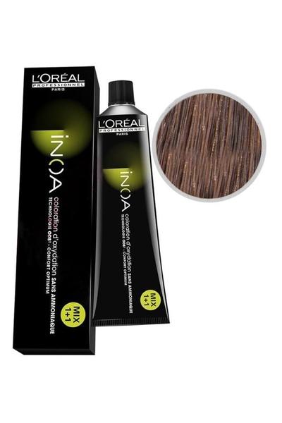 inoa - İnoa Saç Boyası 7.23 İrize Kahve Kumral 60 ml