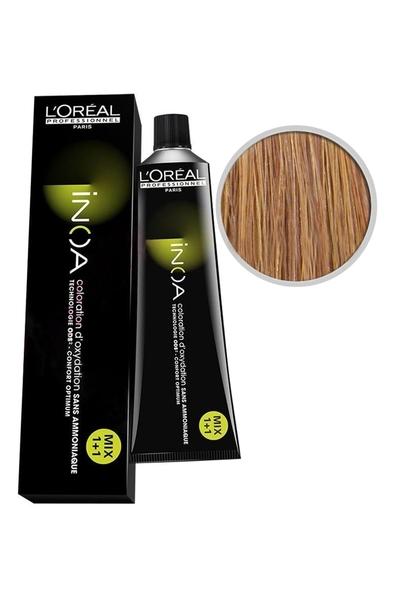 inoa - İnoa Saç Boyası 7.33 Kumral Yoğun Dore Küllü 60 ml