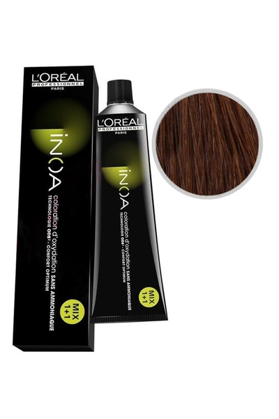 inoa - İnoa Saç Boyası 7.42 Orta Kumral Bakır İrize 60 ml