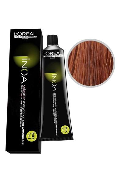 inoa - İnoa Saç Boyası 7.44 Kuımral Yoğun Bakır 60 ml