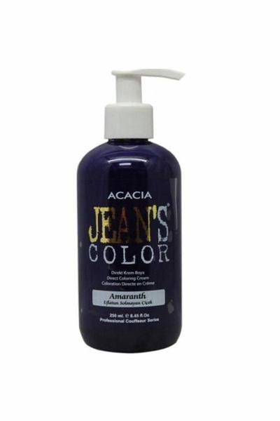 Acacia - Jean's Color Saç Boyası Eflatun Solmayan Çiçek 250 ml