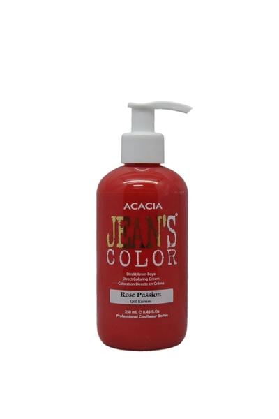 Acacia - Jean's Color Saç Boyası Gül Kurusu 250 ml