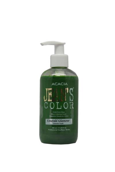 Acacia - Jean's Color Saç Boyası Zümrüt Yeşili 250 ml