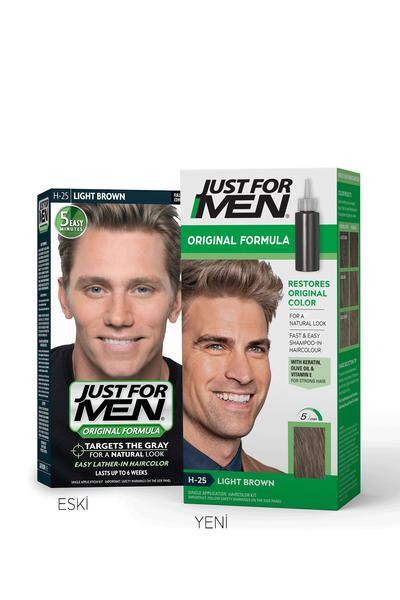 Just For Men - Just For Men Saç Boyası AÇIK KAHVERENGİ