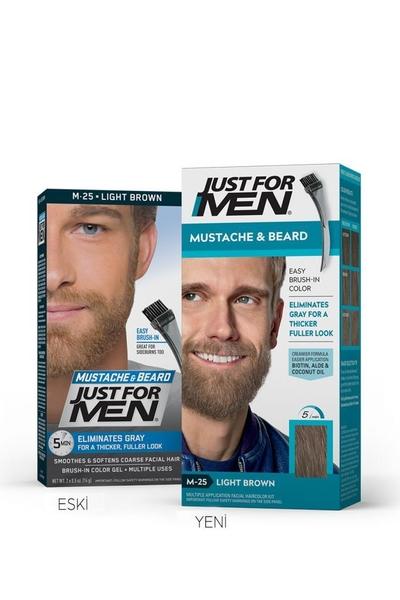 Just For Men - Just For Men Sakal ve Bıyık Boyası AÇIK KAHVE