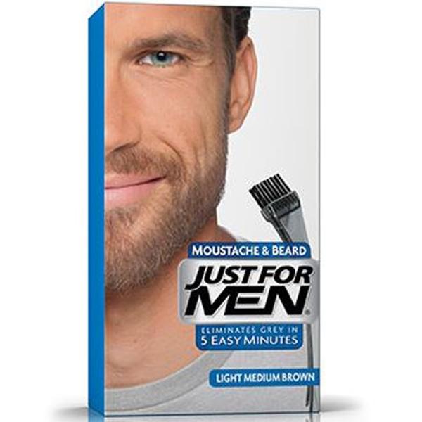 Just For Men - Just For Men Sakal ve Bıyık Boyası AÇIK - ORTA KAHVERENGİ