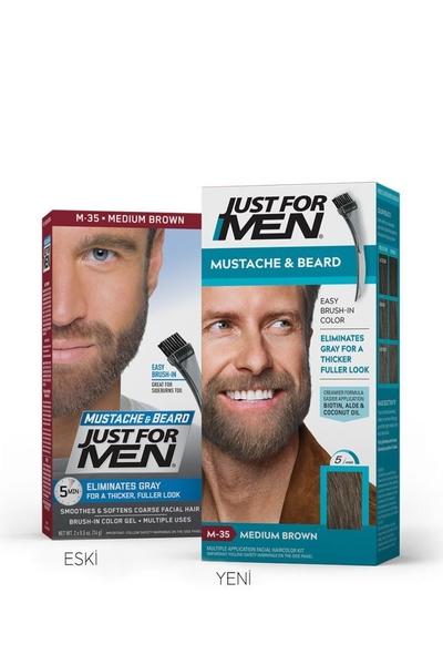 Just For Men - Just For Men Sakal ve Bıyık Boyası ORTA KAHVE