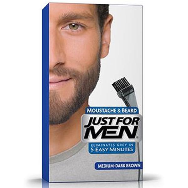 Just For Men - Just For Men Sakal ve Bıyık Boyası ORTA - KOYU KAHVERENGİ