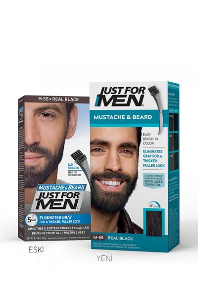 Just For Men - Just For Men Sakal ve Bıyık Boyası SİYAH