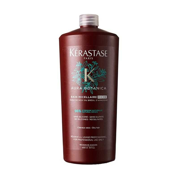 Kerastase - Kerastase Aura Botanica Bain Micellaire Riche Doğal Şampuan 1000ml