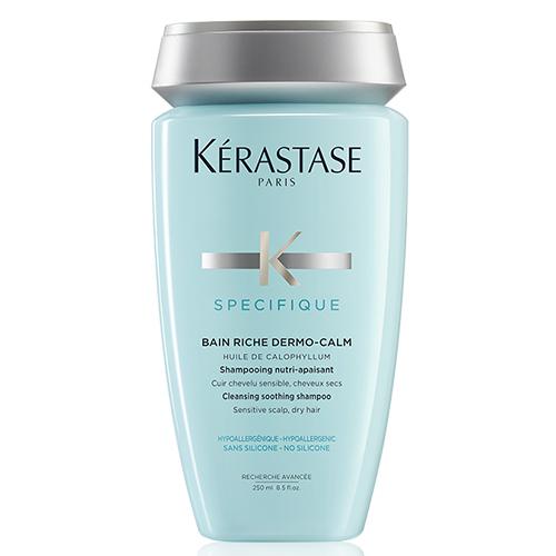 Kerastase - Kerastase Bain Riche Dermo-Calm Kuru Saçlar İçin Kremli Şampuan 250ml