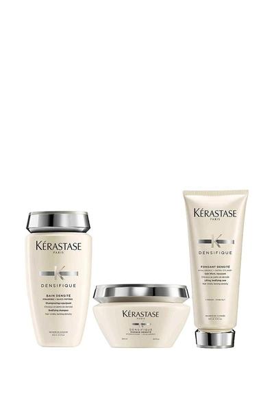 Kerastase - Kerastase Densifique Bain Densite Yoğunlaştırıcı Şampuan 250ml+Makse 200ml+Krem 200ml