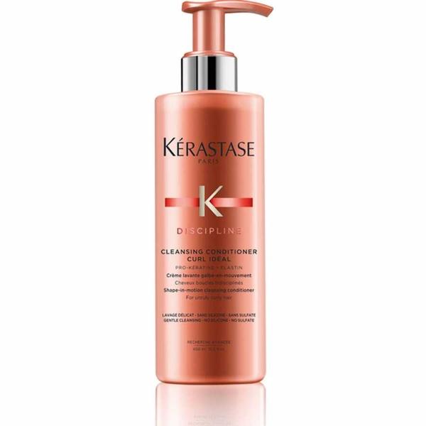Kerastase - Kerastase Discipline Curl Ideal Dalgalı Saçlara Temizleyici Krem 400ml
