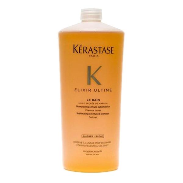 Kerastase - Kerastase Elixir Ultime Le Bain Özel Seri Şampuan 1000ml