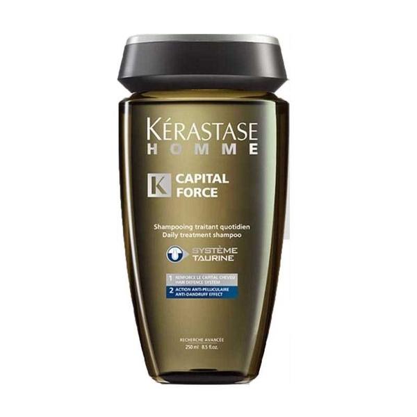 Kerastase - Kerastase Homme Capital Force-Kepeğe Karşı Etkili Şampuan 250ml