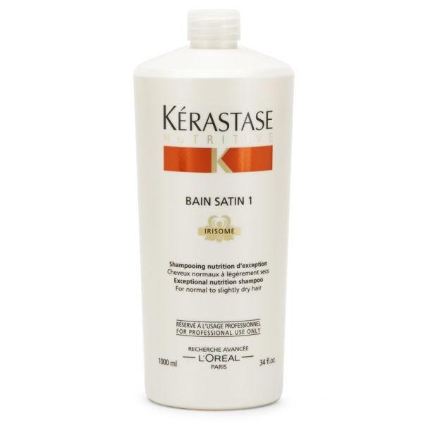 Kerastase - Kerastase Nutritive irisome Bain Satin 1 Nemlendirici Şampuan 1000ml