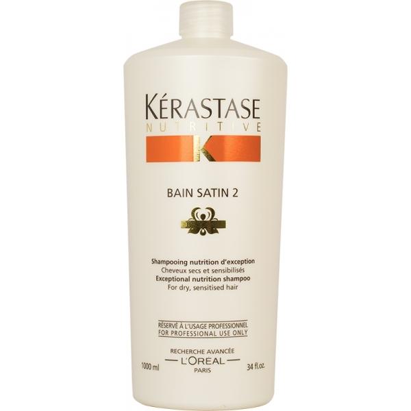 Kerastase - Kerastase Nutritive irisome Bain Satin 2 Nemlendirici Şampuan 1000ml
