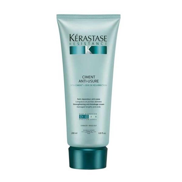 Kerastase - Kerastase Resistance Ciment Anti Usure Yıpranmış Saçlar İçin Bakım Kremi 200 ml
