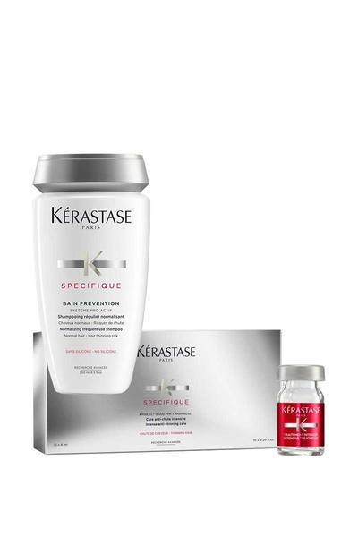 Kerastase - Kerastase Specifique Bain Prevention Dökülme Şampuan 250ml + 10x6 Serum