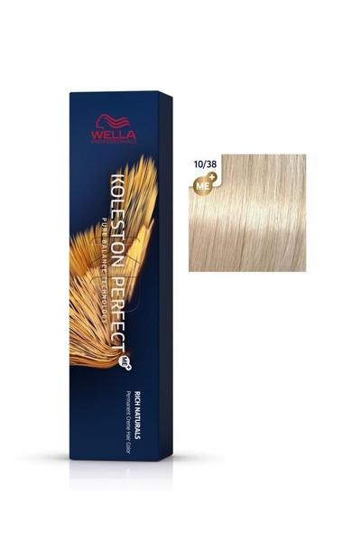Wella - Koleston Perfect Me+ Saç Boyası 10/38 Çok Açık İnci Altın Sarısı 60 ml