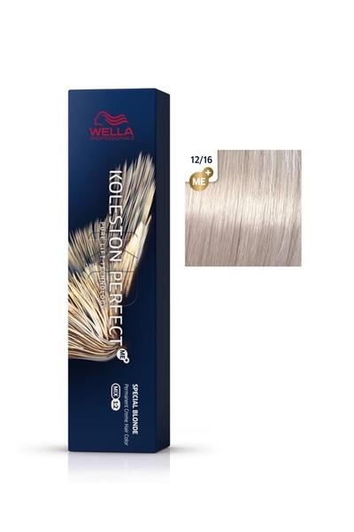 Wella - Koleston Perfect Me+ Saç Boyası 12/16 Viyole Küllü Sarı 60 ml