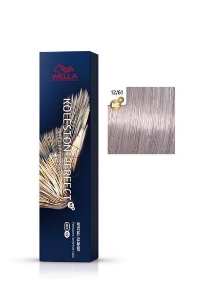 Wella - Koleston Perfect Me+ Saç Boyası 12/61 Küllü Mor Sarı 60 ml