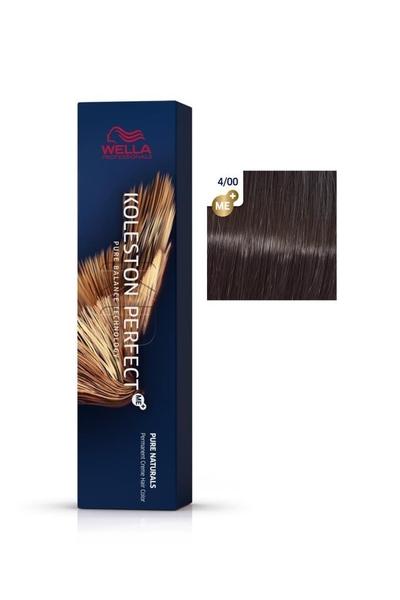Wella - Koleston Perfect Me+ Saç Boyası 4/00 Orta Sıcak Kahve 60 ml