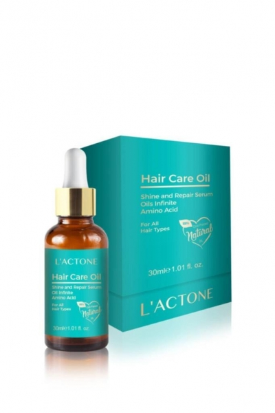 L'actone - Lactone Hair Care Oil Saç Bakım Serumu 30 ml