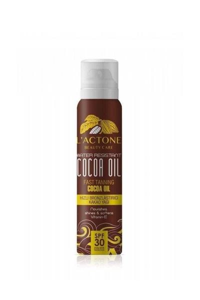 L'actone - Lactone Hızlı Bronzlaştırıcı Kakao Yağı Sprey 150 ml