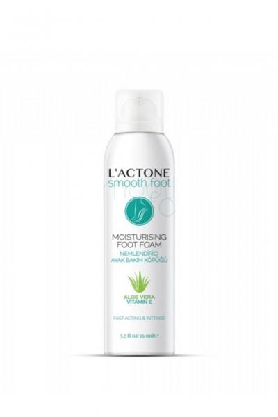 L'actone - Lactone Nemlendirici Ayak Bakım Köpüğü 150 ml