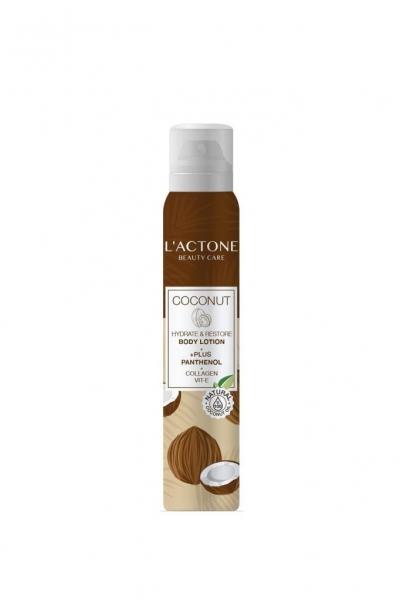 L'actone - Lactone Nemlendirici ve Onarıcı Vücut Losyonu & Panthenol Coconut 200 ml