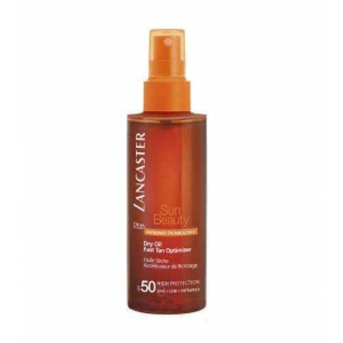 Lancaster - Lancaster Sun Beauty Dry Oil Fast Tan Optimizer Bronzluk Artırıcı Koruma SPF50 150ml