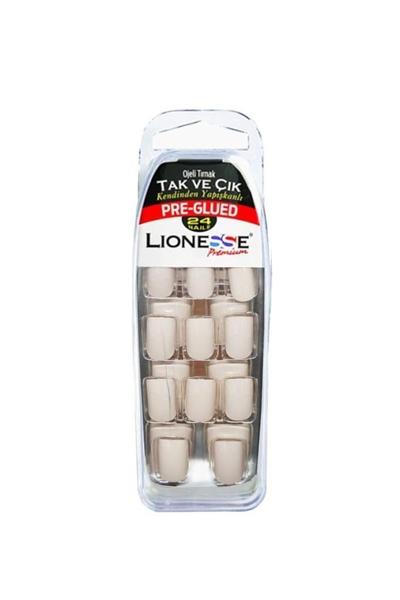 Tarko - Lionesse Tak Ve Çık Ojeli Tırnak 4406