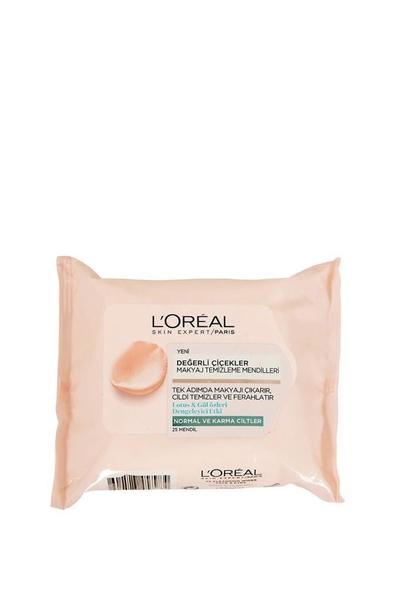 Loreal - Loreal Değerli Çiçekler Makyaj Temizleme Mendili