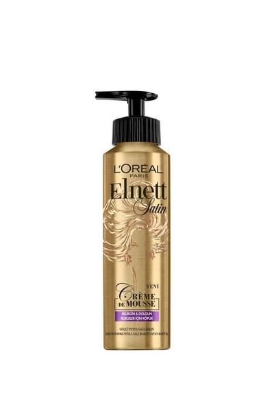 Loreal Paris - Loreal Elnett Belirgin & Dolgun Bukleler İçin Saç Köpüğü 200 ml