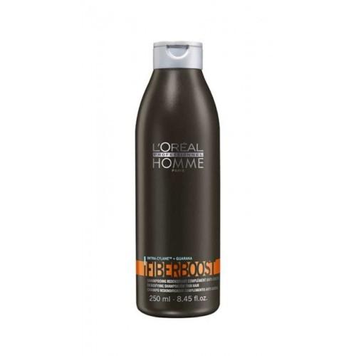 Loreal - Loreal Homme Fiberboost Erkeklere Özel Dökülme Önleyici Hacimlendirici Şampuan 250 ml