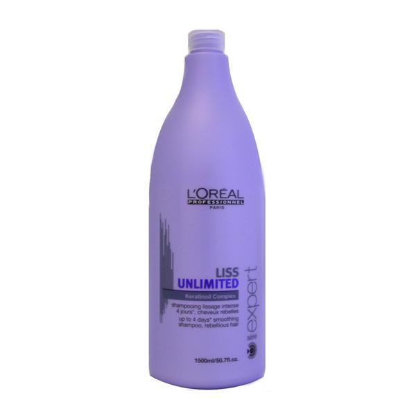 Loreal - Loreal Liss Unlimited Asi Saçları Yatıştırıcı Şampuan 1500ml