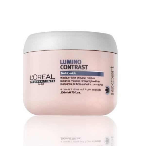 Loreal - Loreal Lumino Contrast Röfleli Saçlara Özel Maske 200ml