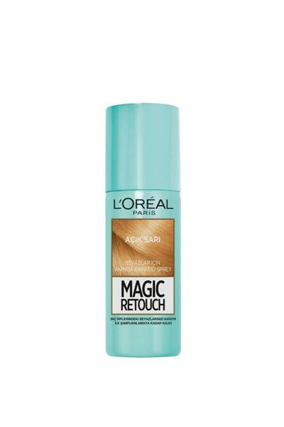 Loreal - Loreal Magic Retouch Beyaz Kapatıcı Sprey Açık Sarı 75 ml