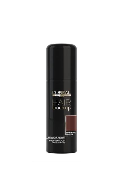 Loreal - Loreal Hair Touch Up Beyaz Kapatıcı Sprey Mahogany Kahverengi 75 ml