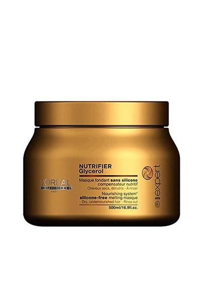 Loreal - Loreal Nutrifier Kuru Mat Saçlar İçin Besleyici ve Nemlendirici Maske 500 ml