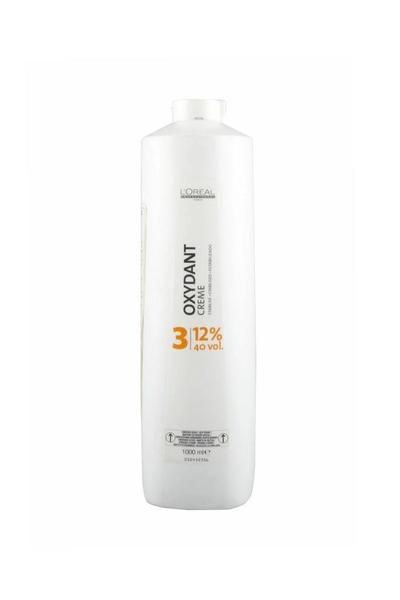 Loreal - Loreal Oxydant Creme Oksidan Krem %12 40 Vol 1000 ml