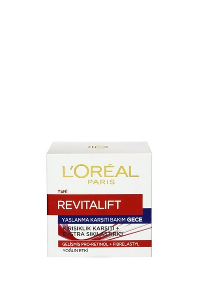 L'Oreal Paris - Loreal Paris Revitalift Kırışıklık Karşıtı Sıkılaştırıcı Gece Kremi 50 ml