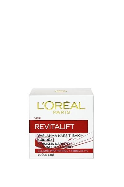 L'Oreal Paris - Loreal Paris Revitalift Kırışıklık Karşıtı Sıkılaştırıcı Gündüz Kremi 50 ml