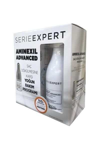 Loreal - Loreal Serie Expert Aminexil Advanced Saç Dökülmesine Karşı Yoğun Bakım Seti