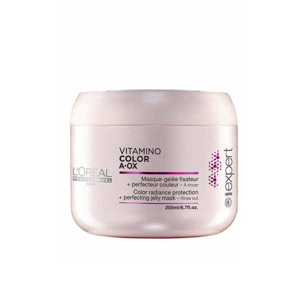 Loreal - Loreal Vitamino Color Boyalı Saçlara Özel Jel Maske 200 ml