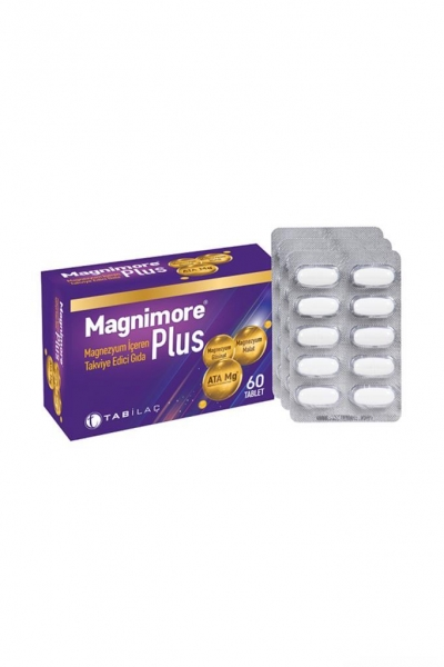 Tab - Magnimore Plus Takviye Edici Gıda 60 Tablet