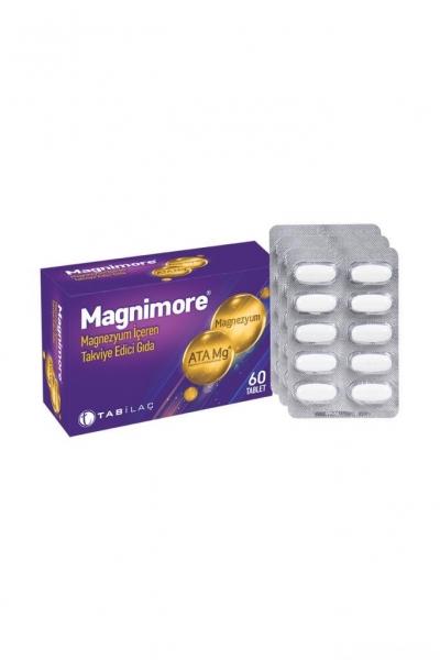 Tab İlaç - Magnimore Takviye Edici Gıda 60 Tablet