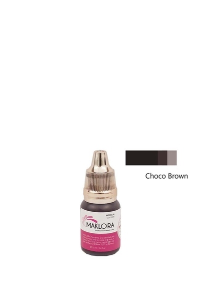 Maklora - Maklora Kalıcı Kaş Boyası Choco Brown 12 ml